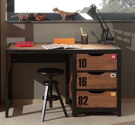 bureau pour ado chambre ado garcon style industriel