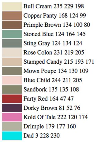 an ai just created and named new paint colors and they re hilarious