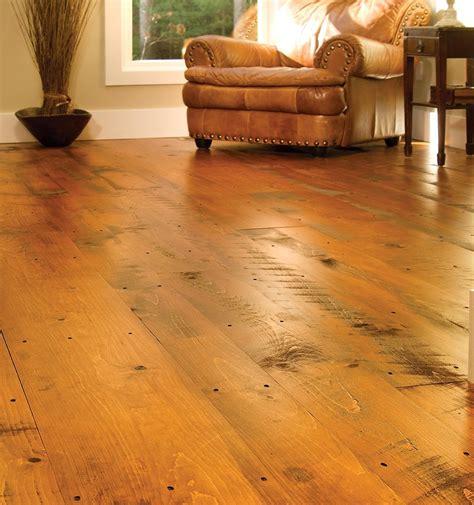 Distressed Wood Flooring  Carlisle Wide Plank Floors