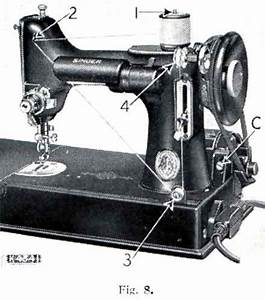 Singer Sewing Machine Bobbin Case Diagram