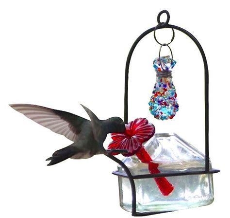 bouquet sparkle hummingbird feeder by parasol the