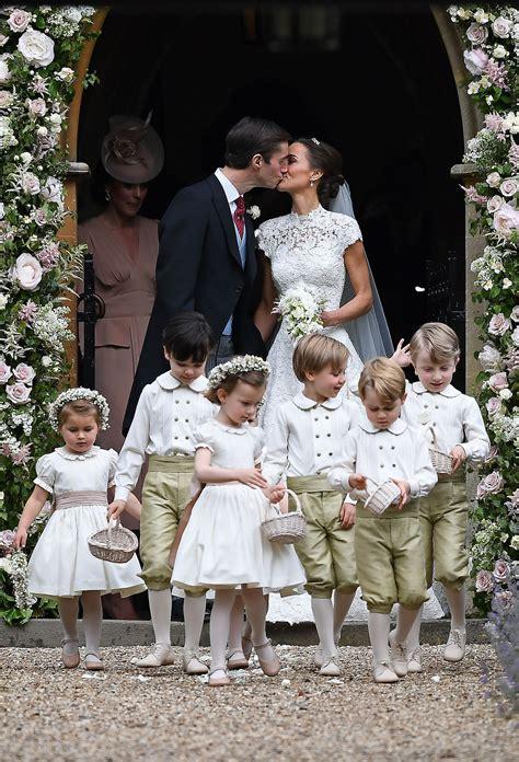 meghan markle skipped pippas church wedding suits