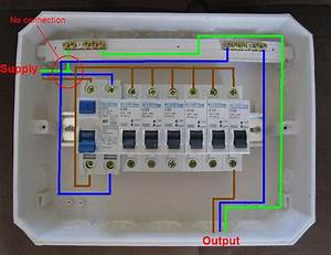 Distribution Board Wiring Diagram