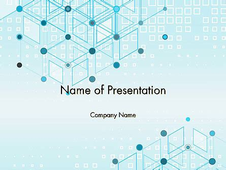 data  communication abstract background powerpoint