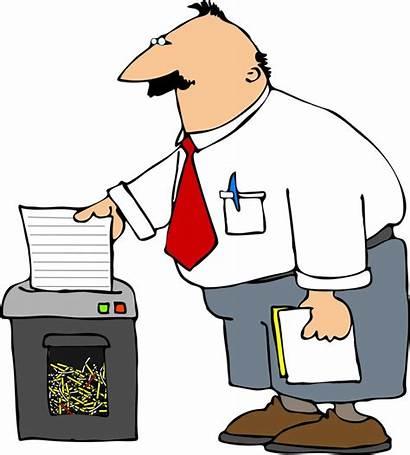 Paper Shredding Shredder Shred Machine Cleaning Event