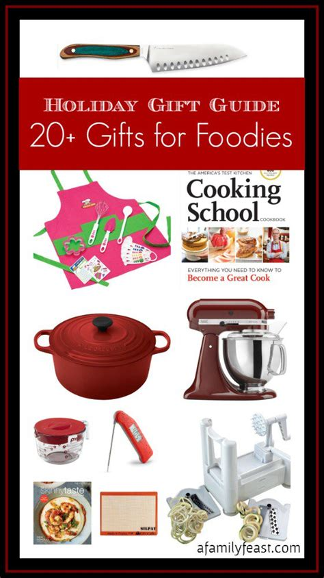 gift guide 20 great gifts for foodies a family feast