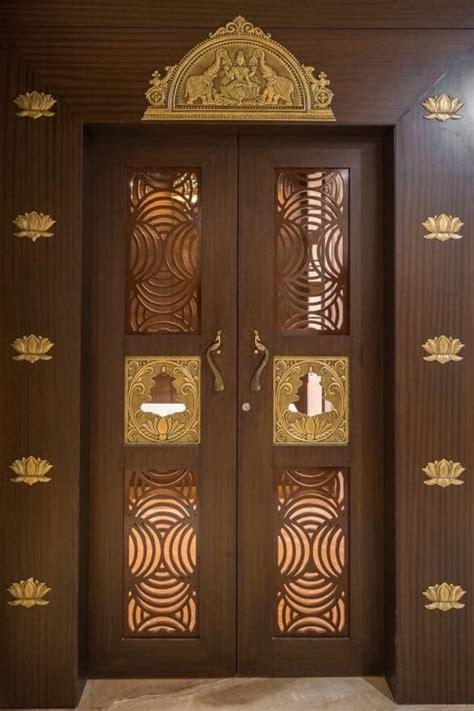 pooja room door design beqbe