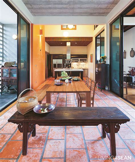 thai style kitchen design modern thai style house 6038