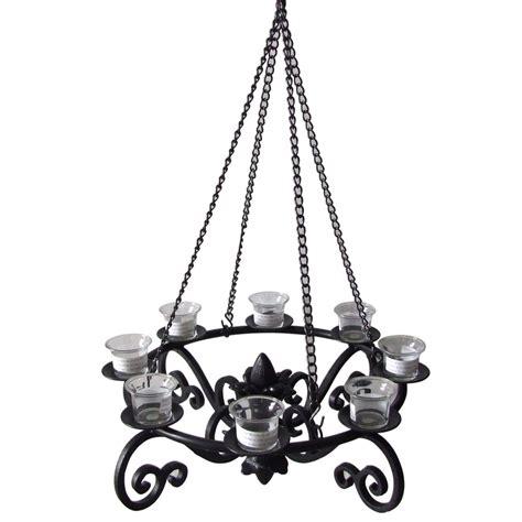 Lantern Chandelier Lowes by Shop Allen Roth 19 In X 19 In Black Metal Votive Candle