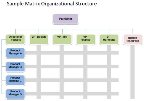 Organisation Structure Template by Free Organizational Chart Template Company Organization
