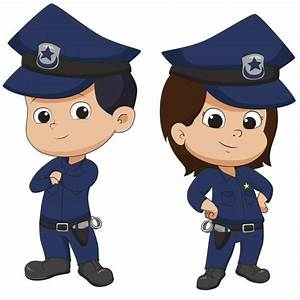Police Clipart For Kid Pencil And In Color Police