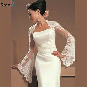 online get cheap wedding jacket aliexpresscom alibaba With wedding dress jacket
