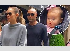 Derek Jeter and wife take baby girl out in public for the