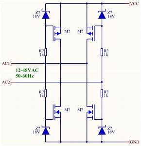 Bridge Rectifier Made With Mosfets