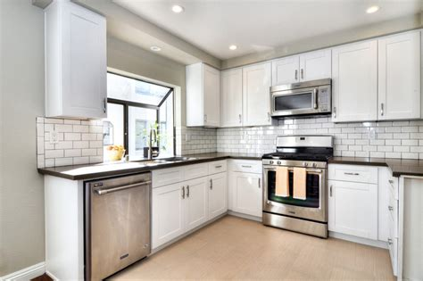 small tile backsplash in kitchen 29 charming compact kitchen designs designing idea