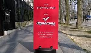 Panneau Stop Paris : chevalet stop trottoir signarama paris 13 ~ Melissatoandfro.com Idées de Décoration
