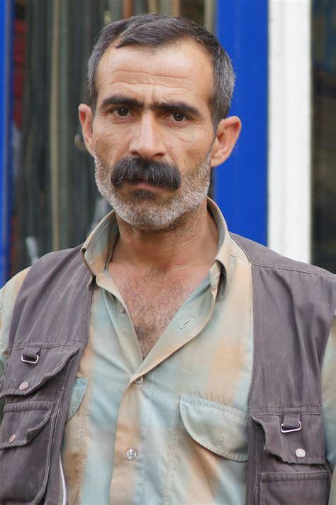 Kurdish Man With Moustache Charles Roffey Flickr