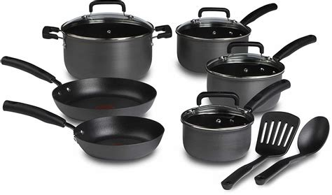 fal  piece stainless steel cookware set review