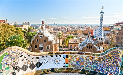 Best Places In Barcelona To Visit by Park Guell In Barcelona Spain Flying And Travel