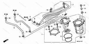 Honda Motorcycle 2010 Oem Parts Diagram For Fuel Pump