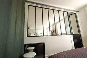 Verriere Interieure Metallique : verriere chambre salon avec des id es ~ Premium-room.com Idées de Décoration
