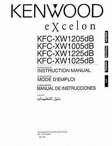 Kenwood Kfc-xw1205db