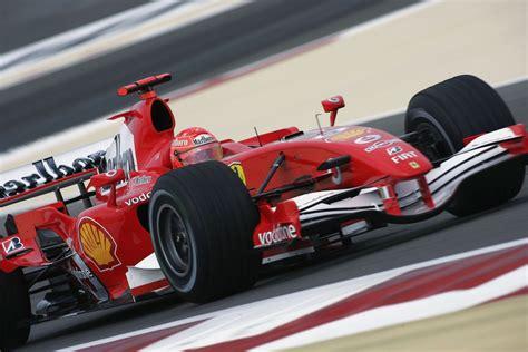 ferrari formula  car raced  michael schumacher put