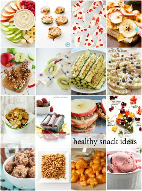 Healthy Snacks  The Idea Room