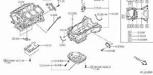 Nissan Sentra Cylinder Block  Assembly  Component