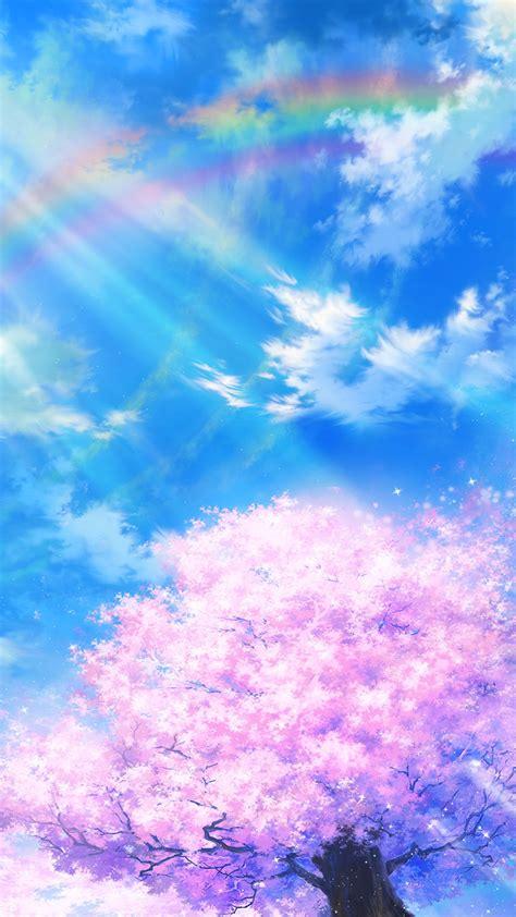 bd anime sky cloud spring art illustration wallpaper