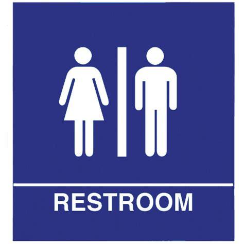 unisex bathroom sign clipart best