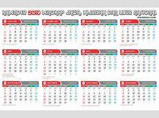 Kalender 2019 PDF Gratis, Editabel dan lengkap Hijriyah