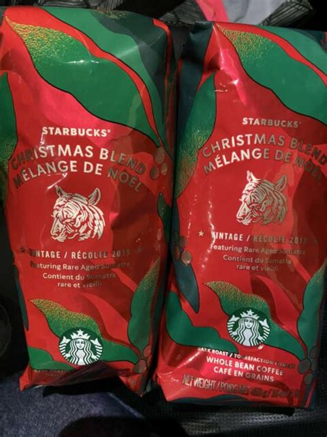 Our roasters love transforming these unpredictable beans from dark coral green to tiger orange to a rich, oily. (2) Starbucks Christmas VTG 2019 Rare Aged Sumatra Dark Roast Whole Bean Coffee for sale online