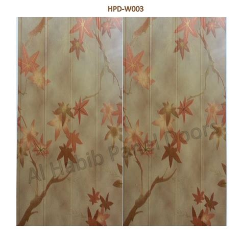 kitchen cupboard interior storage pvc wall paneling flower texture hpdw003 pvc paneling