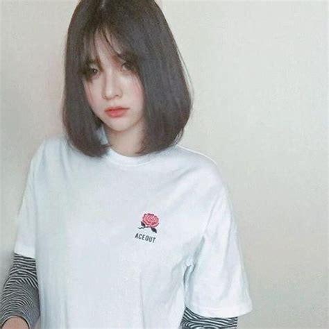 latest short korean haircuts