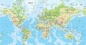 Carte Du Monde Metallique : carte du monde avec pays carte du monde avec pays ~ Teatrodelosmanantiales.com Idées de Décoration