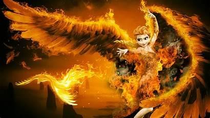 Wings Fire Frozen Elsa Anna Deviantart Wallpapers