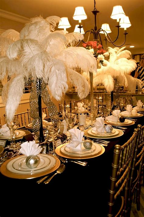 40+ Great Gatsby Party Decorations Ideas Great gatsby