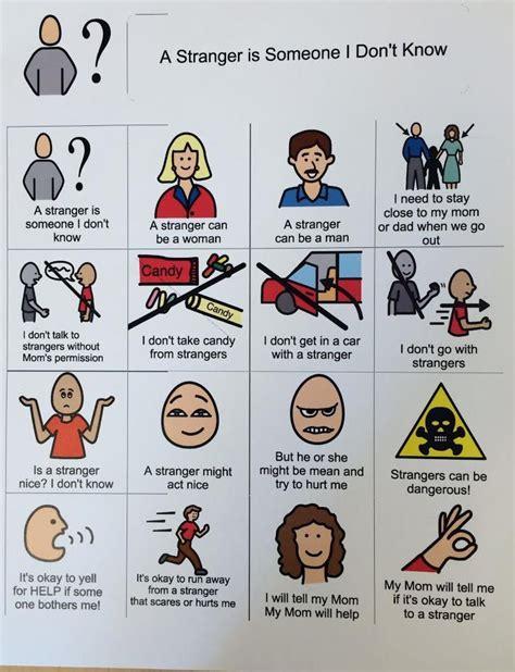 a is someone i don t 669 | 2ca9f0e7b18fe11add6f5013b1724ebe teaching stranger danger stranger danger activities