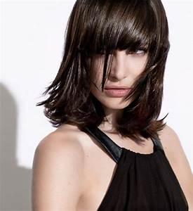Coiffure Carré Mi Long : coiffure carre mi long avec frange ~ Melissatoandfro.com Idées de Décoration