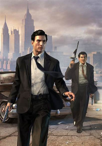Mafia Gangster Wallpapers Ii Games Vito Artwork