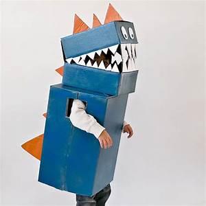 Fabriquer Un Personnage En Carton : d guisement de dinosaure en carton ~ Zukunftsfamilie.com Idées de Décoration