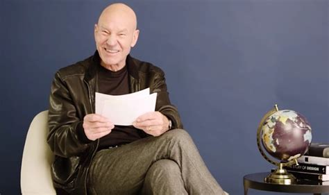 patrick stewart reads sir patrick stewart reads one star reviews of famous