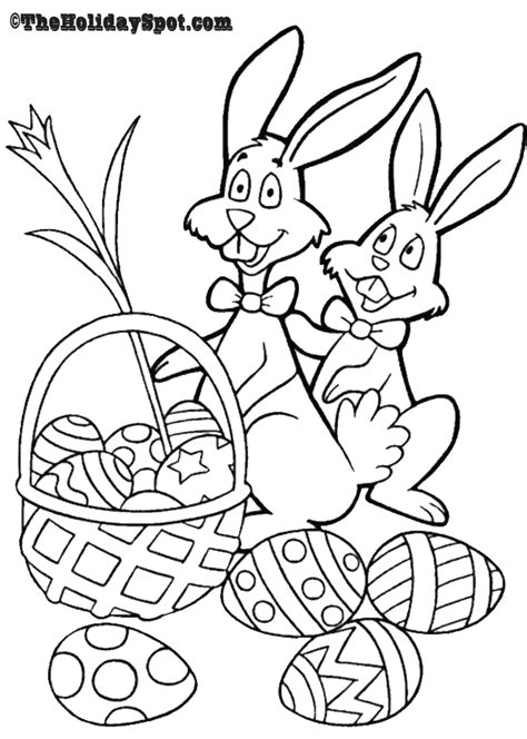 easter coloring pages easter bunny coloring pages