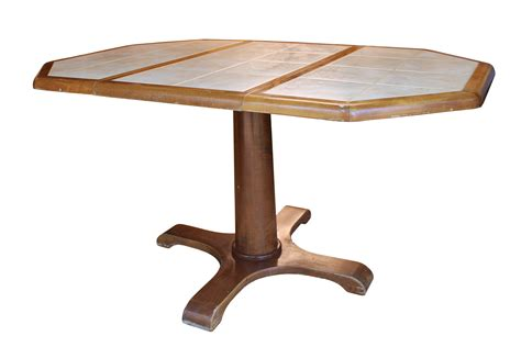 tile top kitchen table with leaf my grand estate