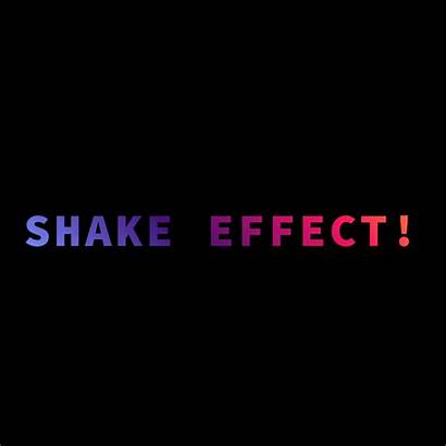 Effect Shake Pure Text September Coding Fribly