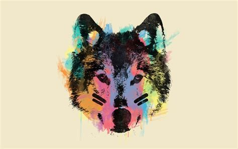 Abstract Wolf Wallpaper by Abstract Wolf Wallpaper Wallpapersafari