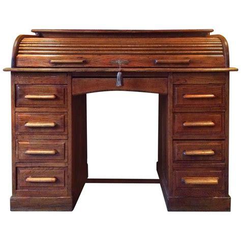 wooden roll top desk antique roll top desk twin pedestal writing desk solid oak