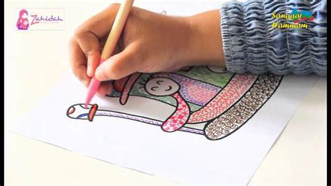 cara mewarnai yang benar dengan pensil warna