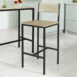 Table Et Chaise De Bar : sobuy ensemble table de bar 2 chaises table haute cuisine lot de 1 2 ogt03 fr ebay ~ Dode.kayakingforconservation.com Idées de Décoration